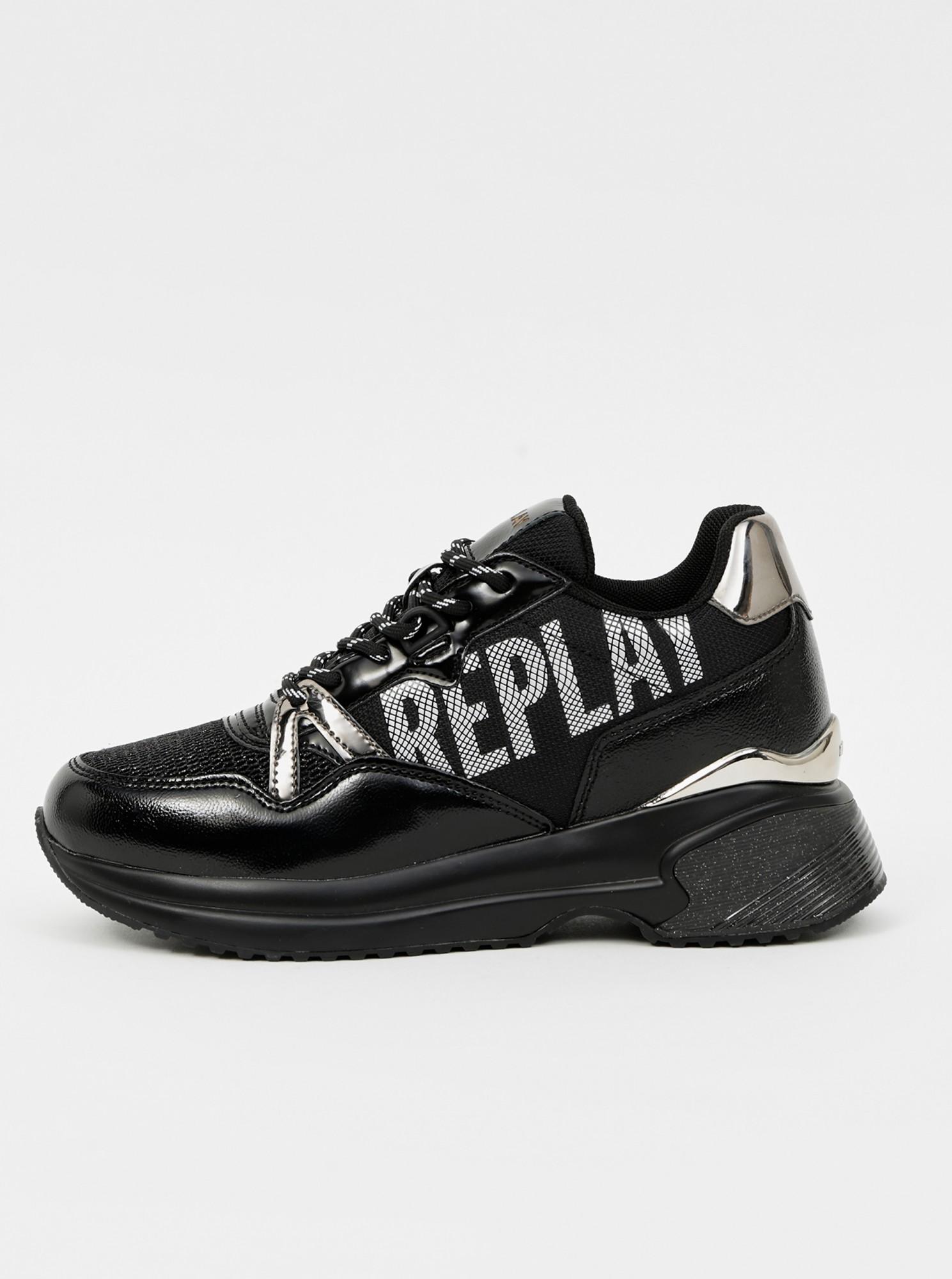 Replay čierne tenisky - 37