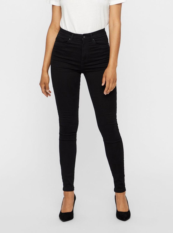 Vero Moda čierne skinny fit džínsy Sophia - L