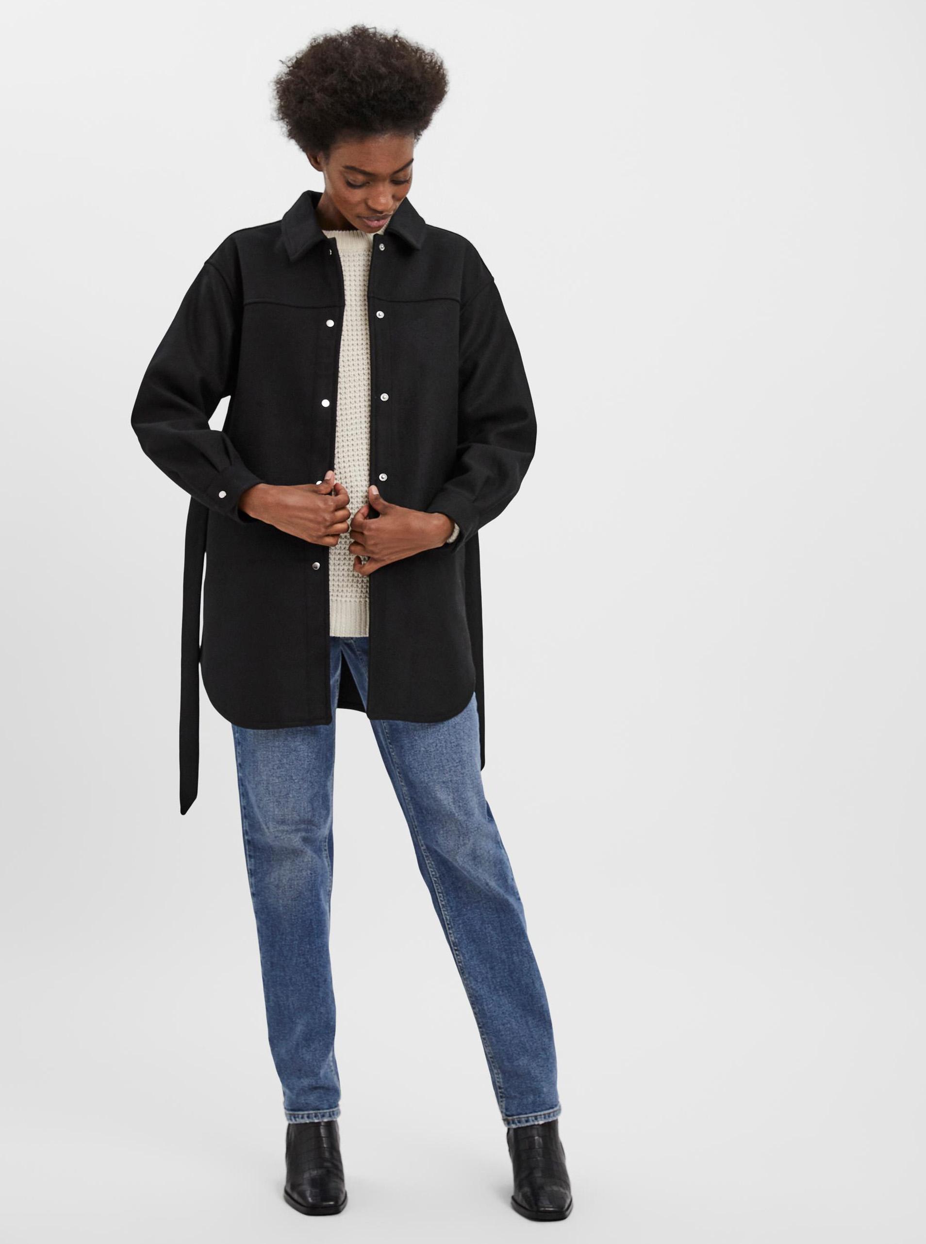 Vero Moda čierne ľahký bunda Vince - M
