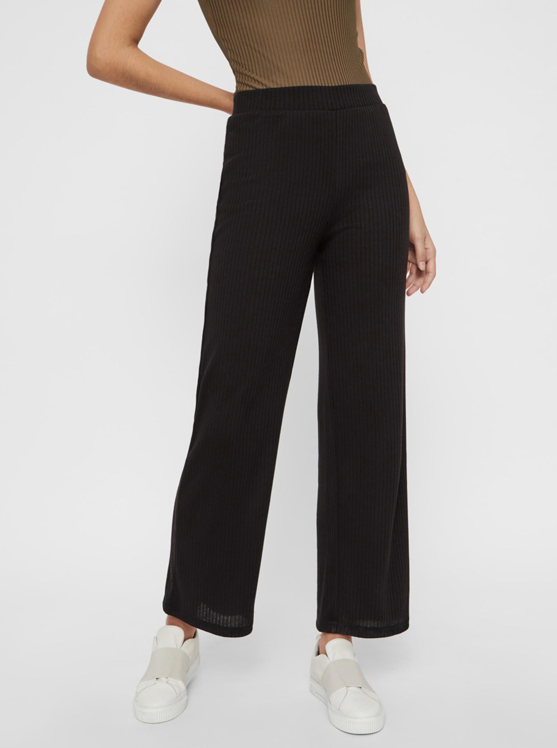 Pieces čierne nohavice Molly - XL