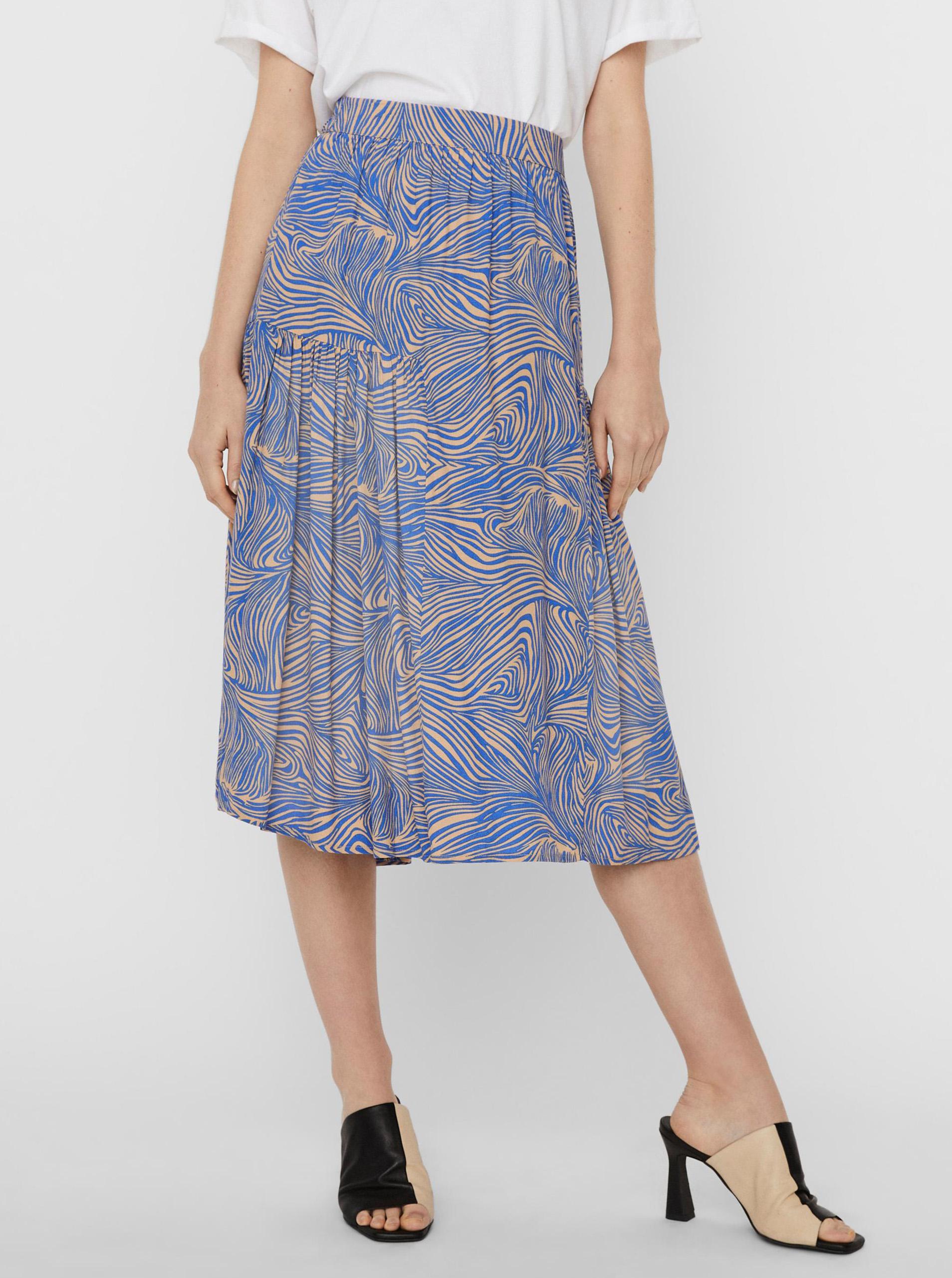 Vero Moda modré sukňa Gea - XS