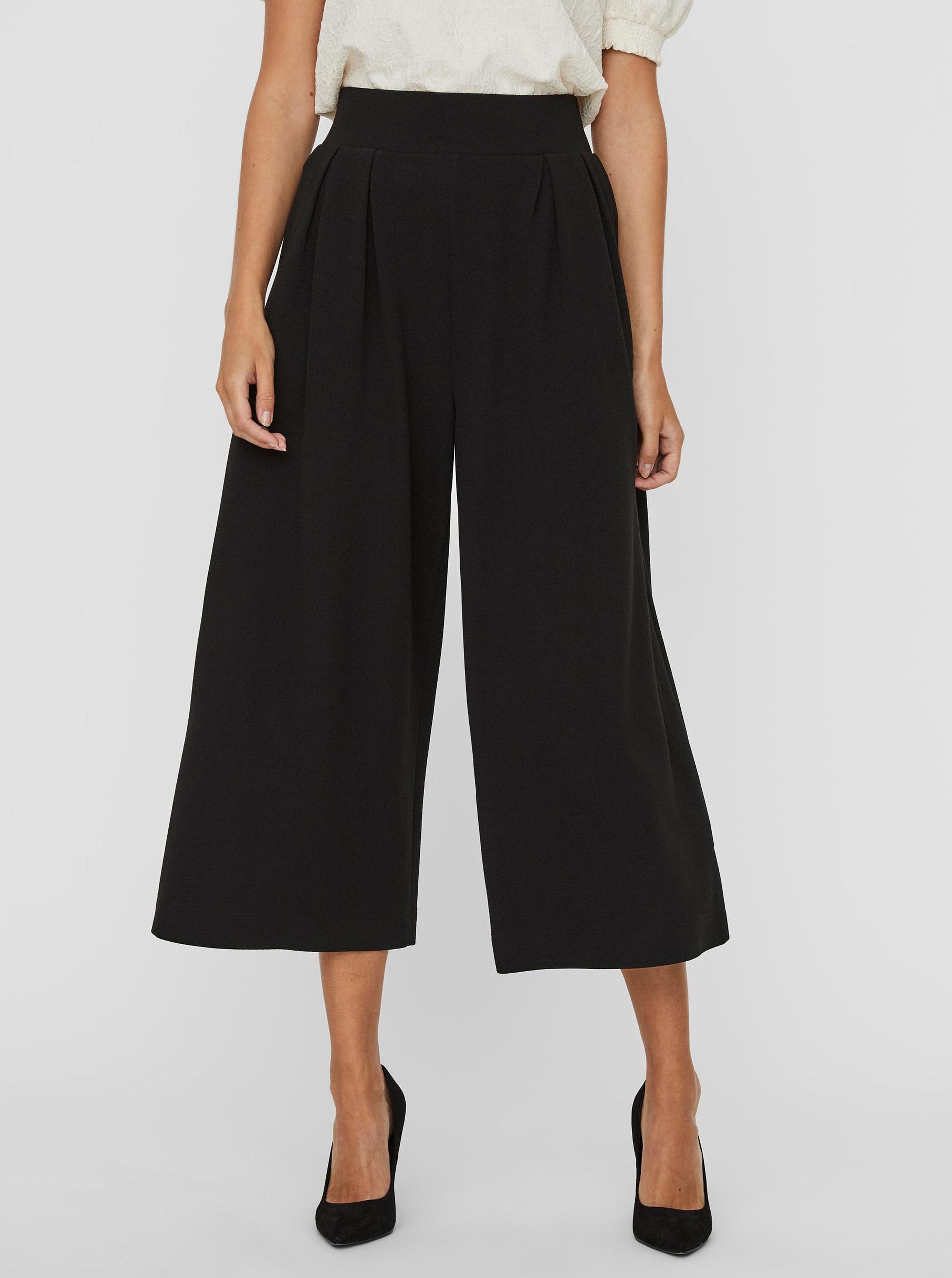 Vero Moda čierne cullotes Francis - M