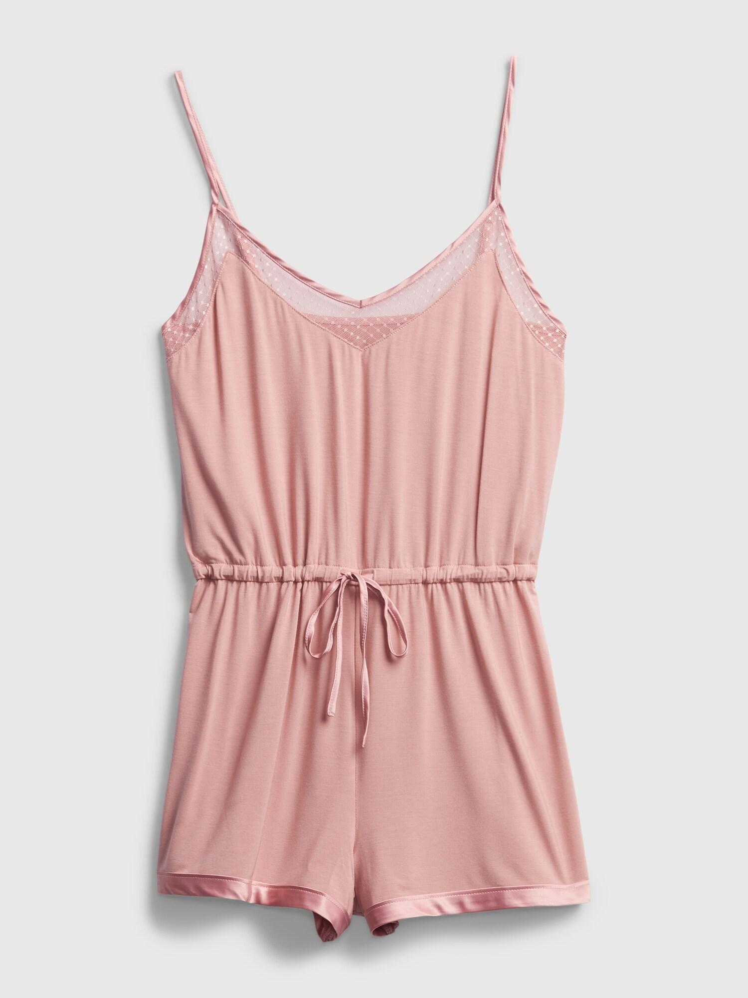 Ružové dámske pyžamo GAP - L