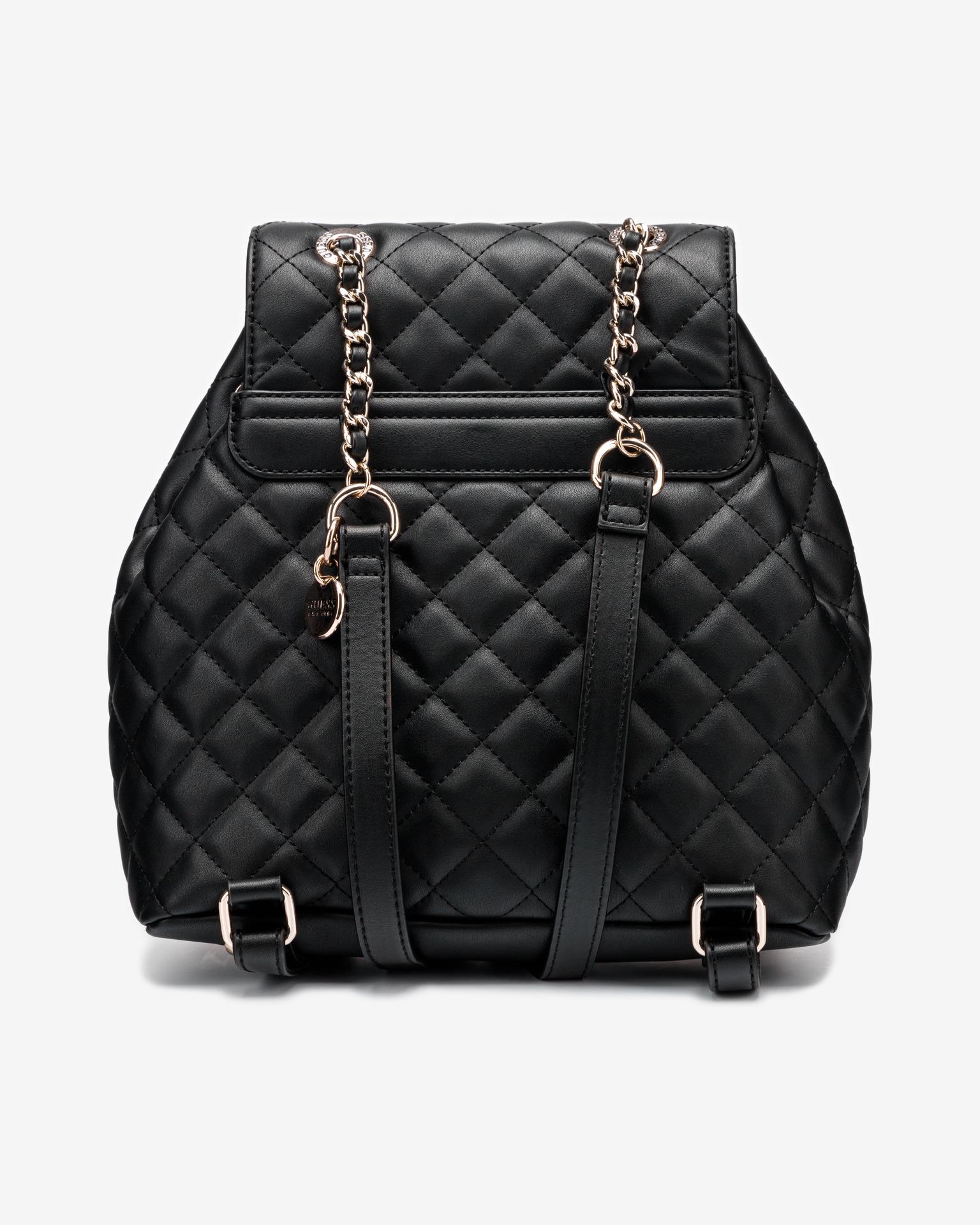 Guess čierne ruksak Illy