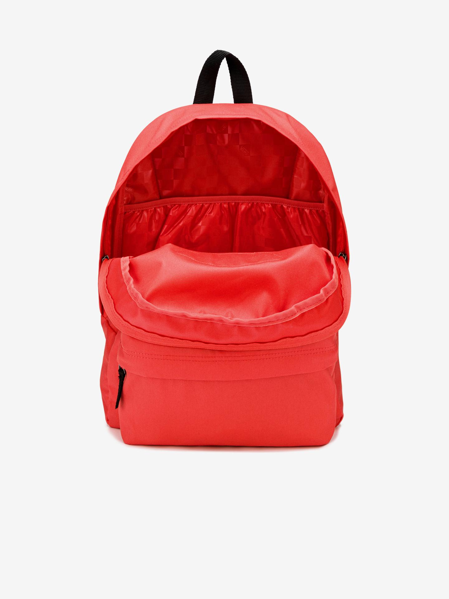 Vans červené ruksak Realm