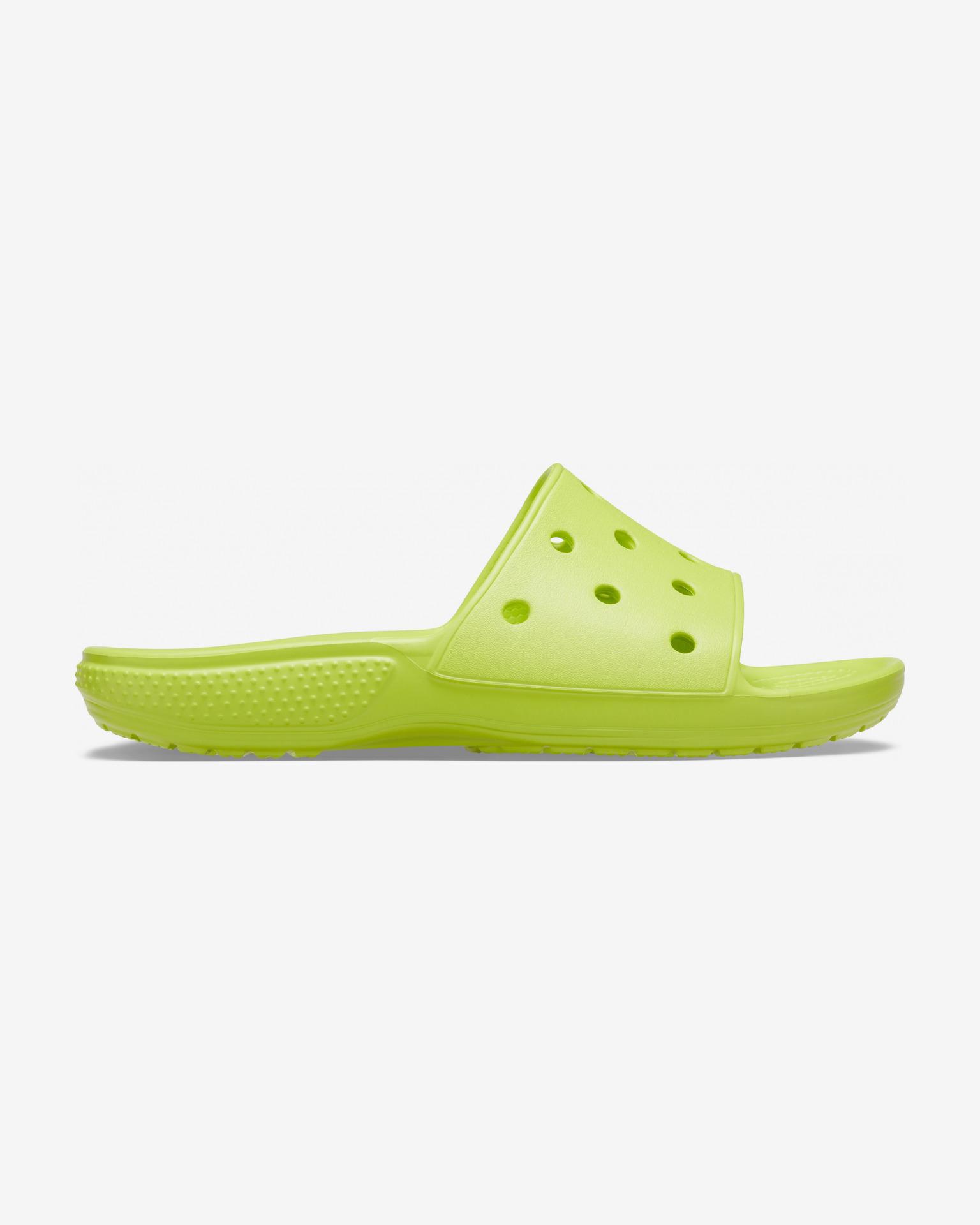 Crocs Classic Šľapky Zelená Žltá - 42-43