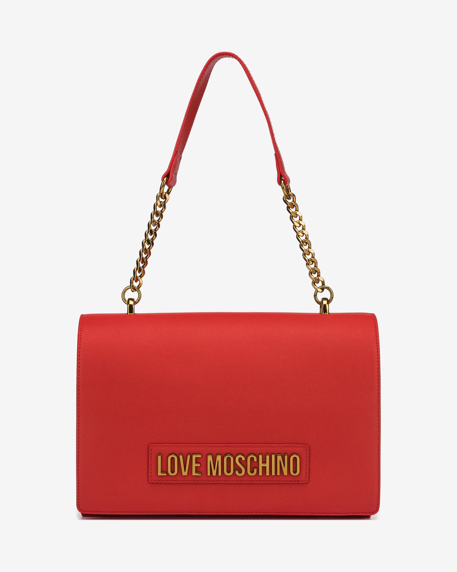 Love Moschino červené kabelka
