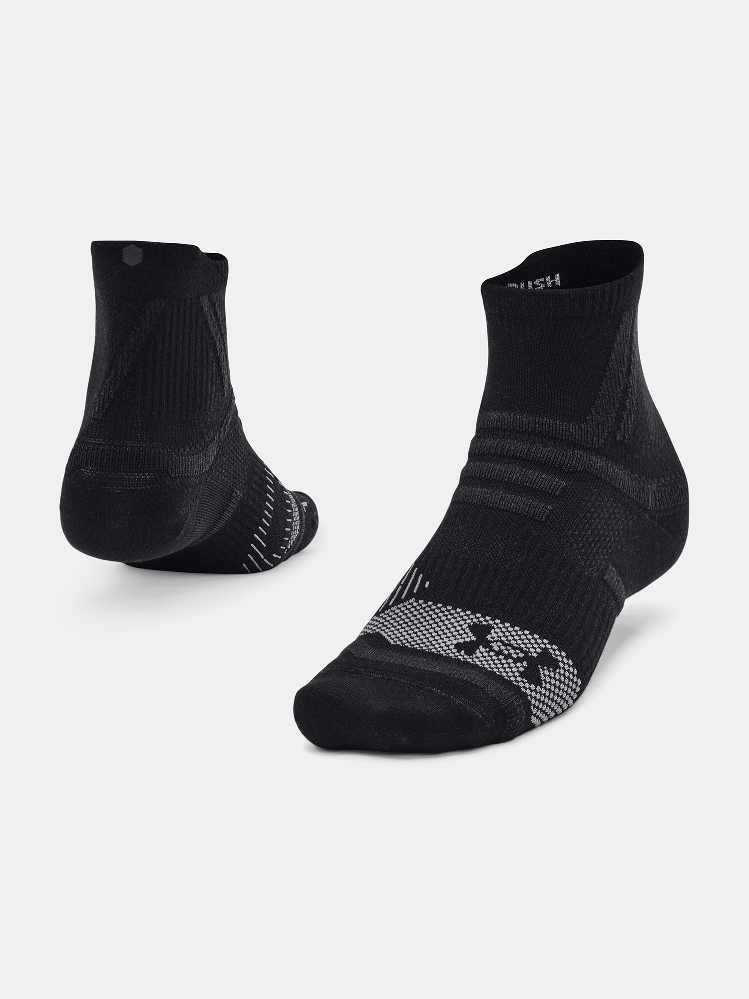 Under Armour RUSH™ Ponožky Čierna - 40 1/2-44 1/2
