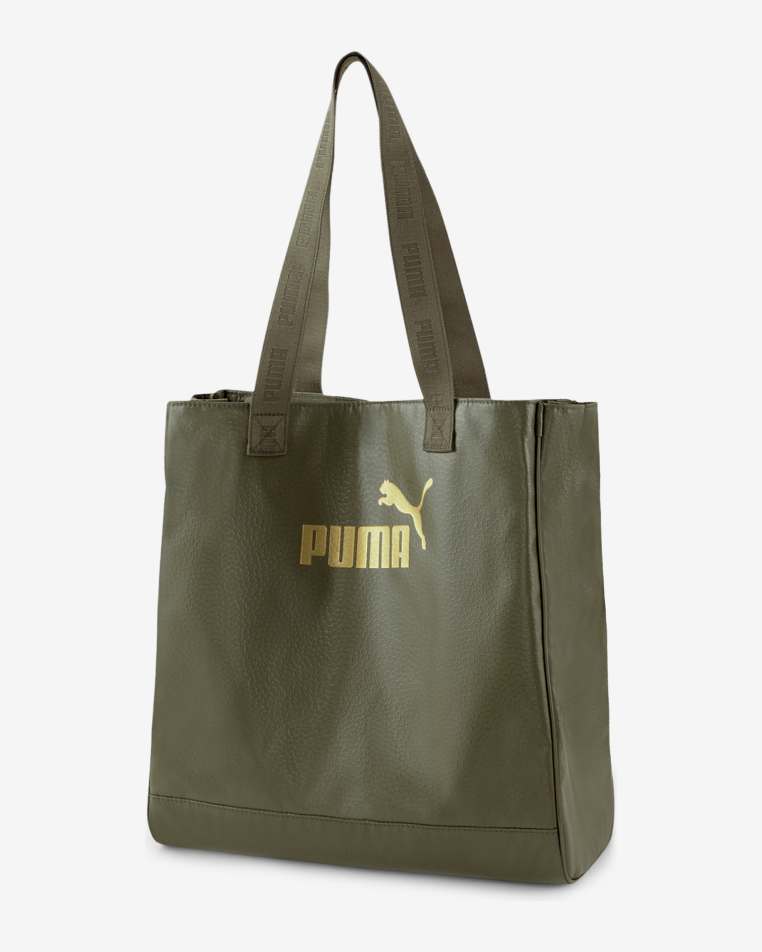 Puma Core Up Shopper taška Zelená