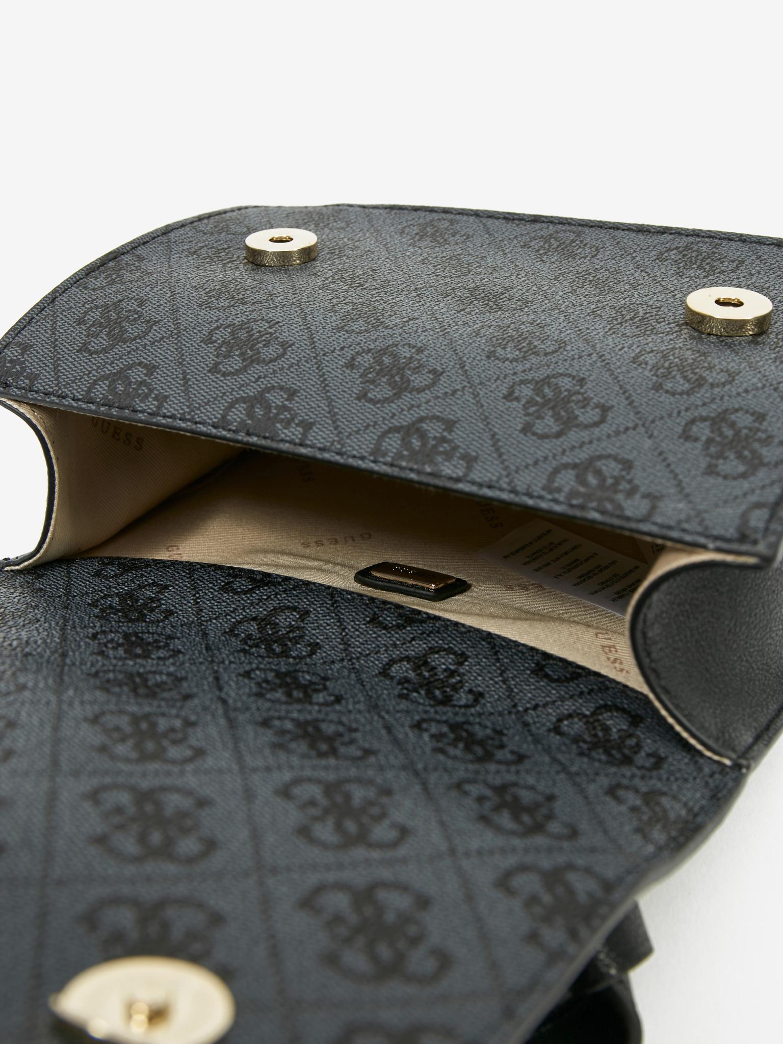 Guess čierne crossbody kabelka Noelle Mini