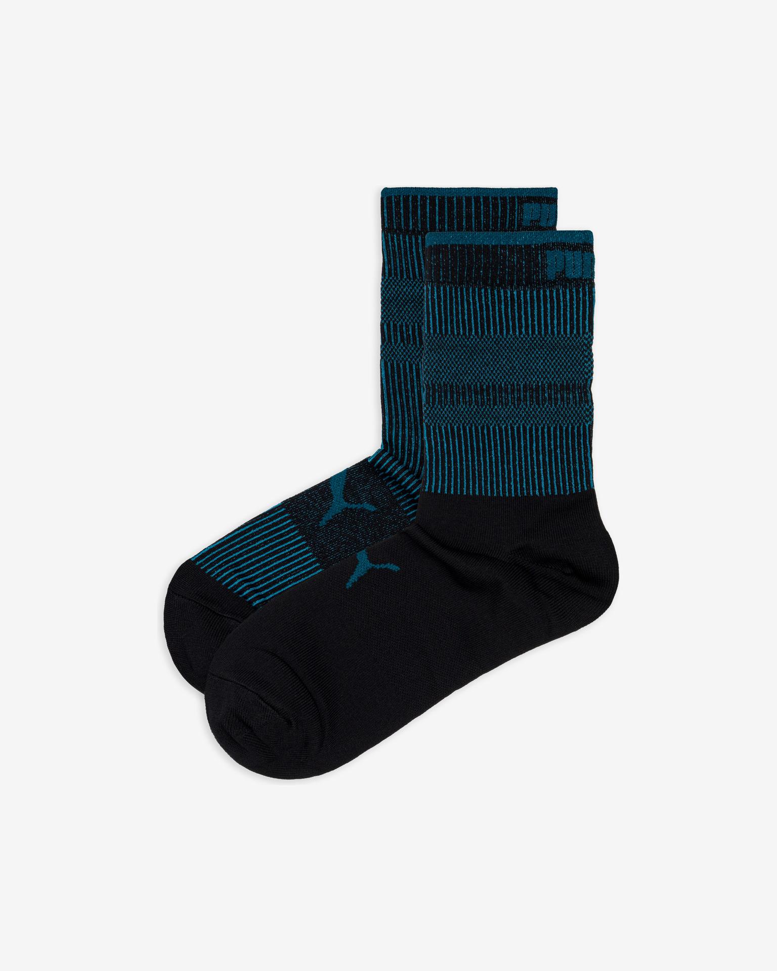 Puma Classic Ponožky 2 páry Čierna Modrá - 39-42