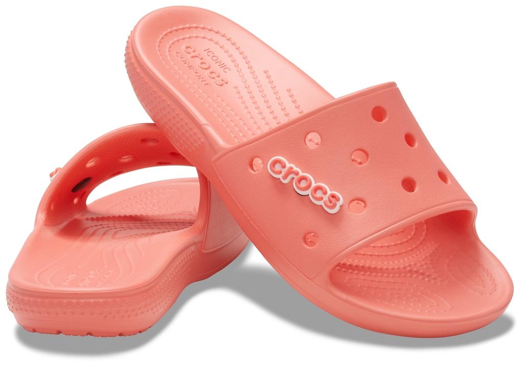 Crocs lososové šľapky Classic Crocs Slide Fresco - 36-37