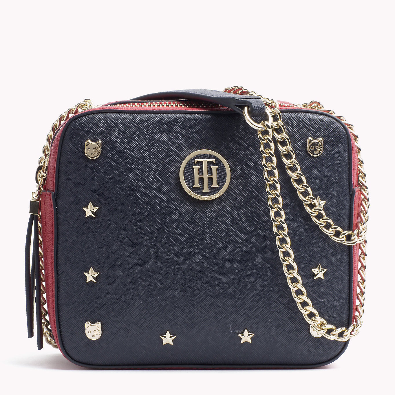 Tommy Hilfiger malá crossbody kabelka Camera Bag Novelty Studs ... 9d398c14805