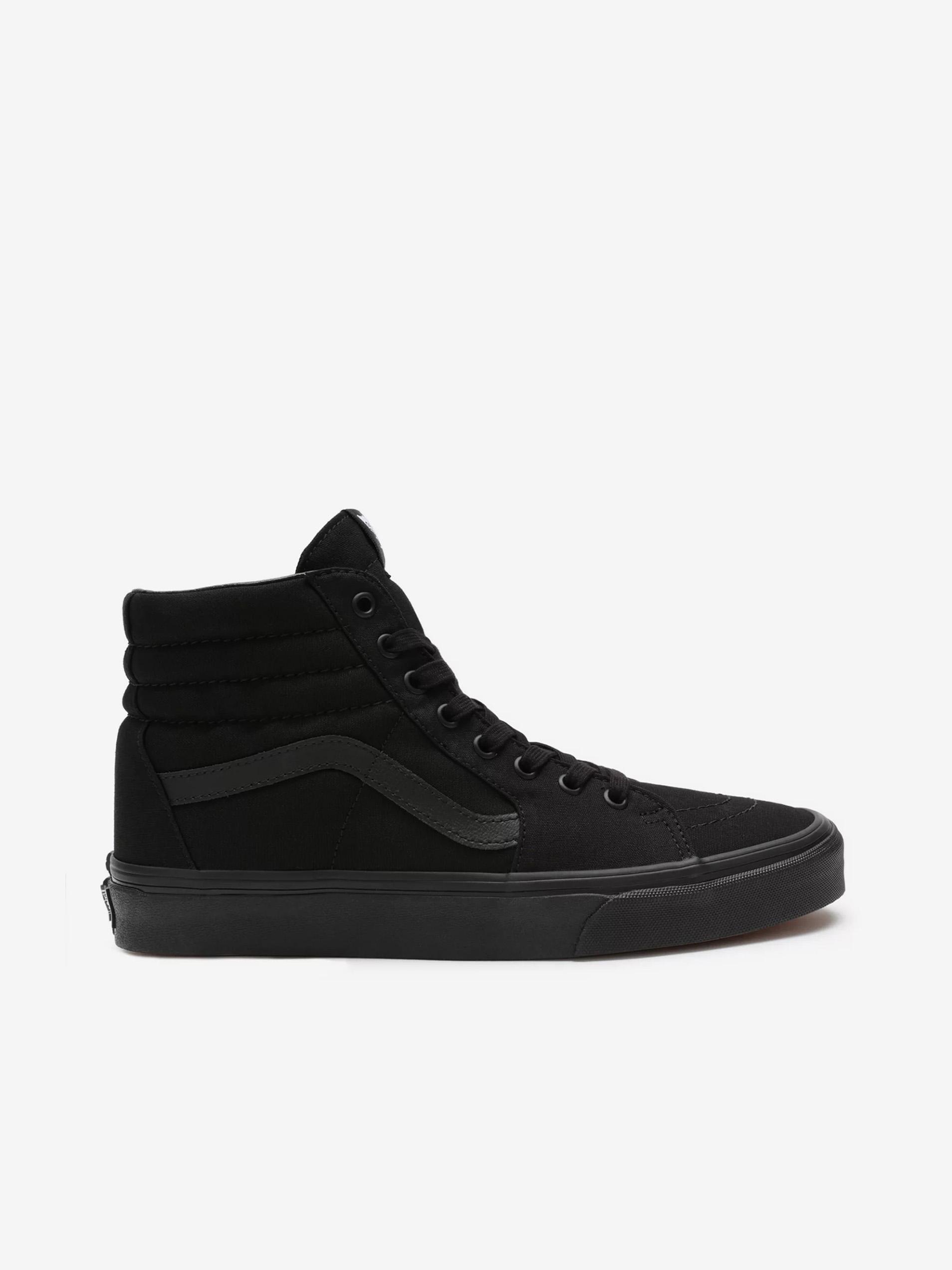 Čierne pánske členkové topánky VANS SK8-Hi - 42 1/2