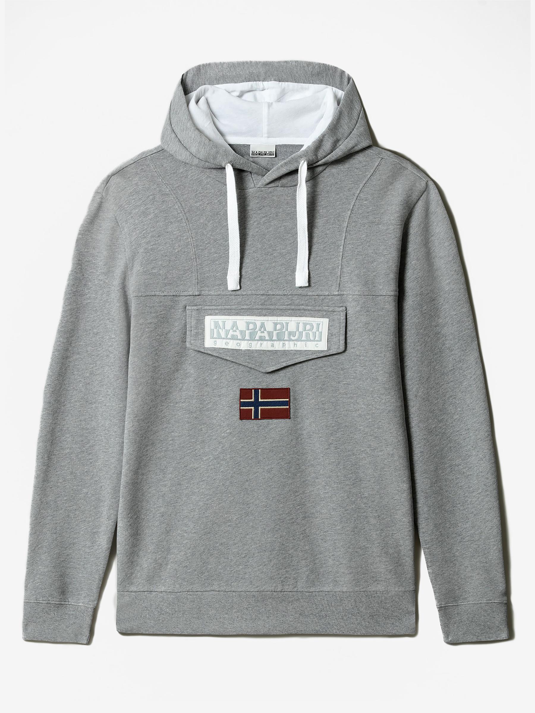 NAPAPIJRI Pánske svetre a mikiny Burgee - XL