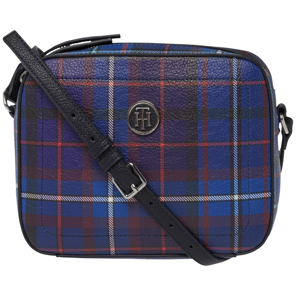 bc5a08be3e Tommy Hilfiger modrá crossbody kabelka Effortless Novelty Camera Bag Print