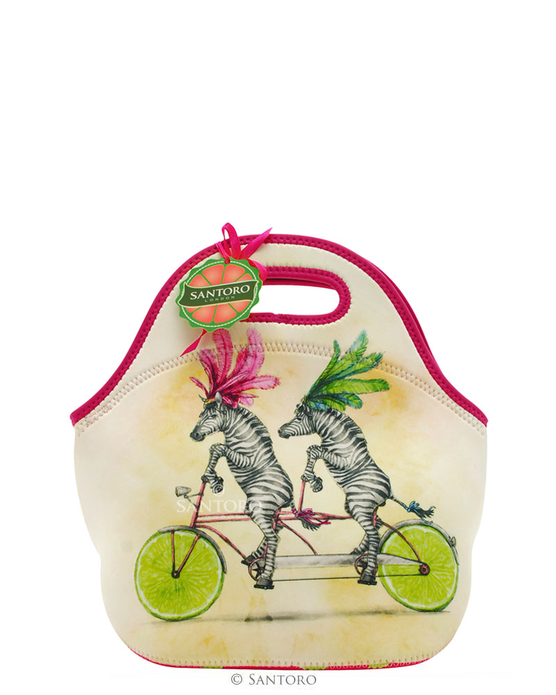 Santoro neoprénová taška Fruity Scooty Lunch Bag Zebra