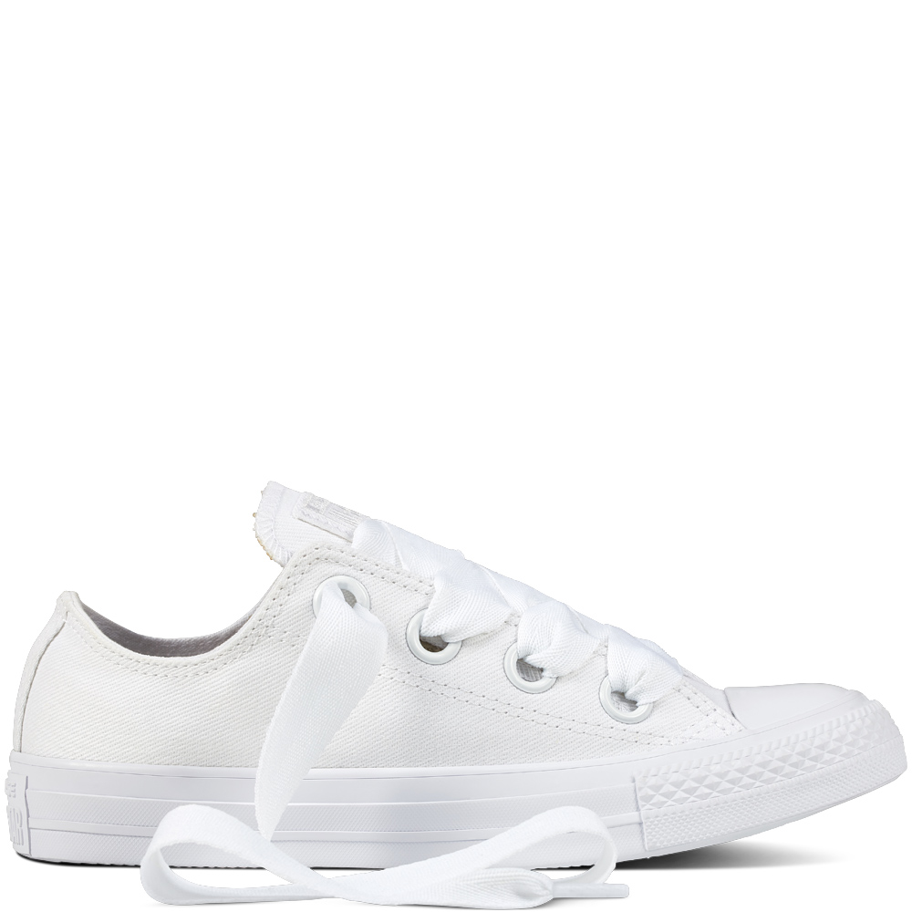 3c062a40c Converse biele tenisky Chuck Taylor All Star As Big Eylets White ...