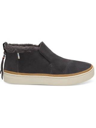 c216802a9dcd Toms sivé kožené topánky Paxton Forged Iron Grey Suede