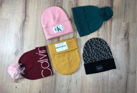 Zimné čiapky Calvin Klein