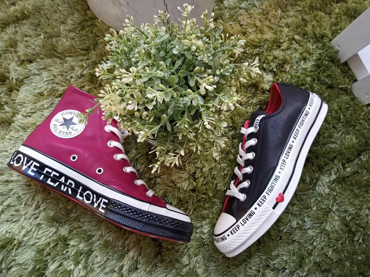 Srdcovky - limitovaná kolekcia Converse