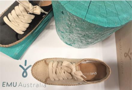 Bavlnené topánky Emu - štýlovka na jar