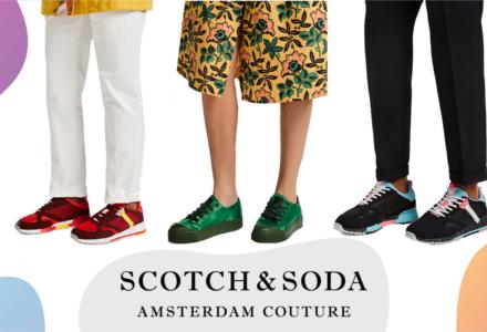 Topánky Scotch & Soda - budeme trendy obaja!