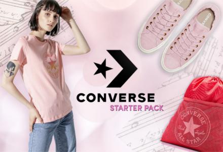 Converse - ideálna voľba na fesťák