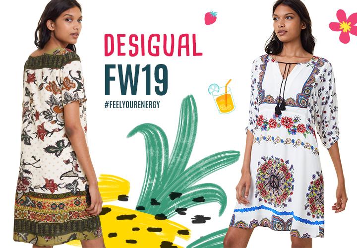 Nová kolekcia značky Desigual pre jeseň a zimu 2019