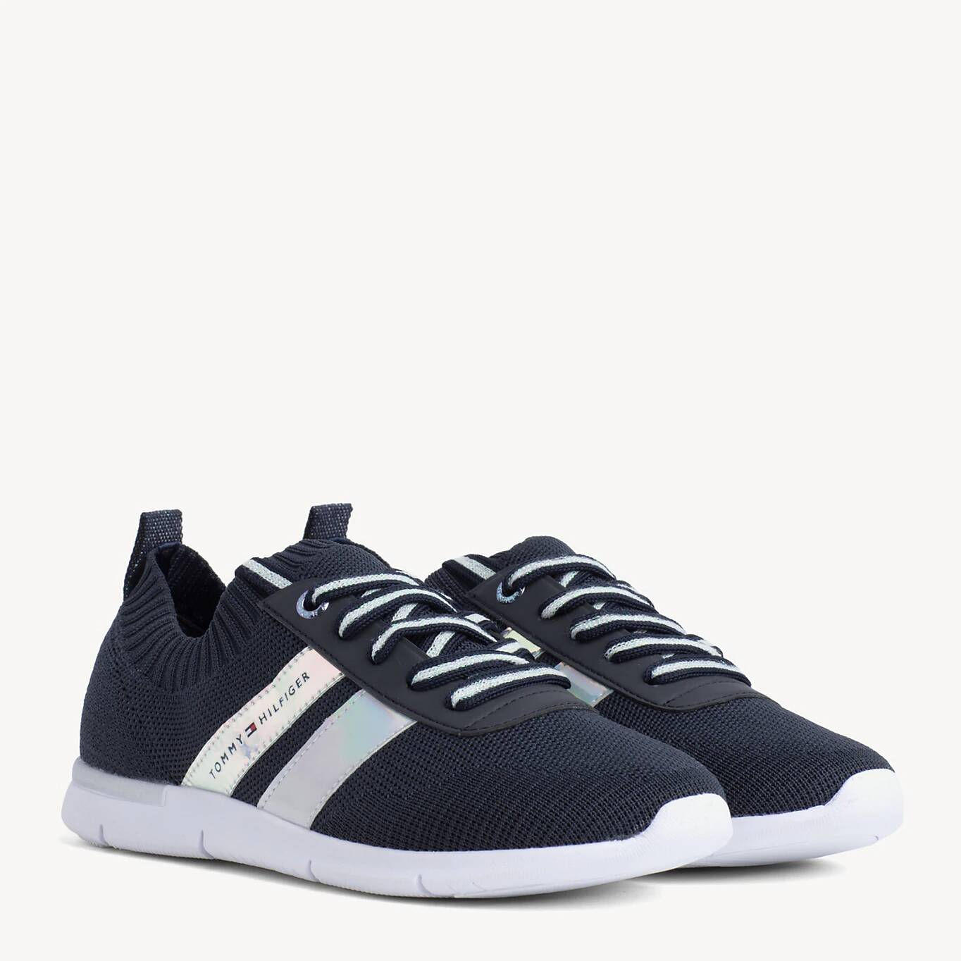 Tommy Hilfiger modré tenisky Corporate Detail Light Sneaker Midnight - 38