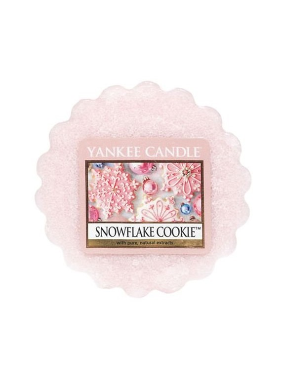 Yankee Candle vonný vosk do aromalampy Snowflake Cookie