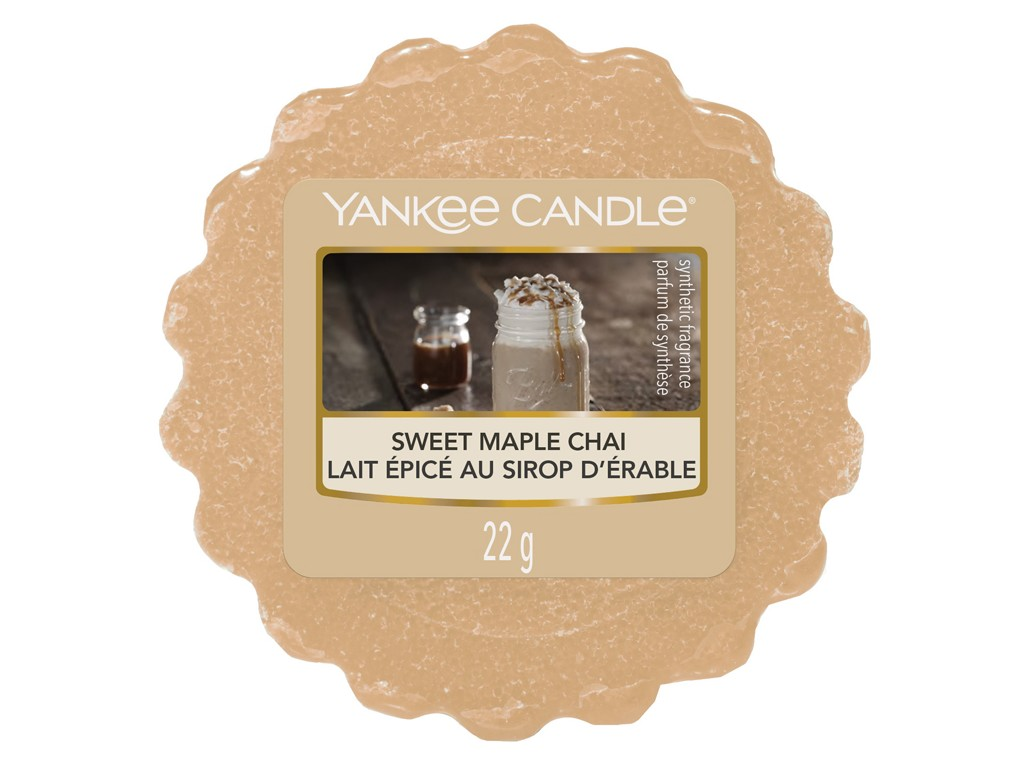 Yankee Candle vonný vosk do aromalampy Sweet Maple Chai