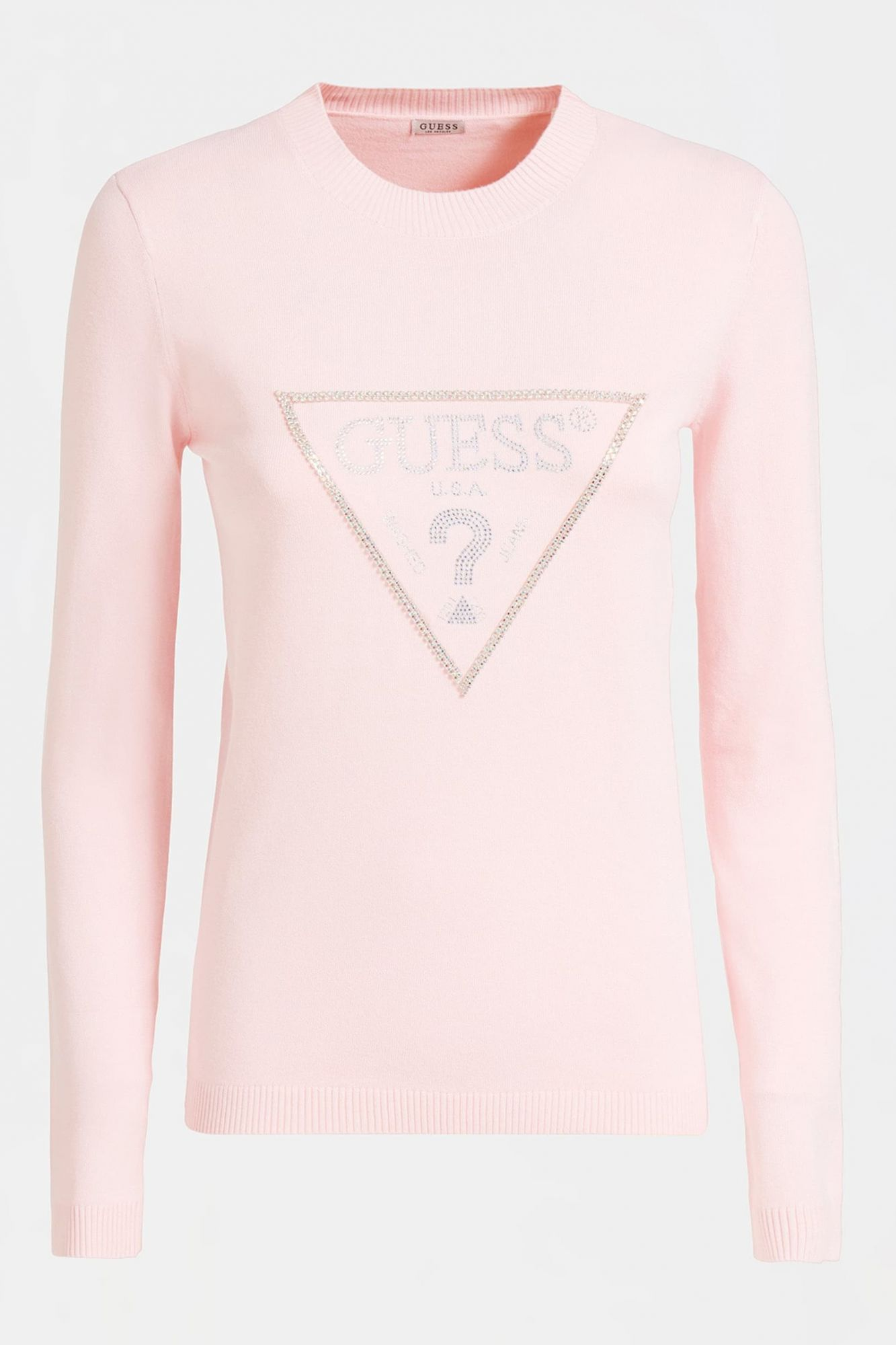 Guess púdrový sveter Jewel Sweater