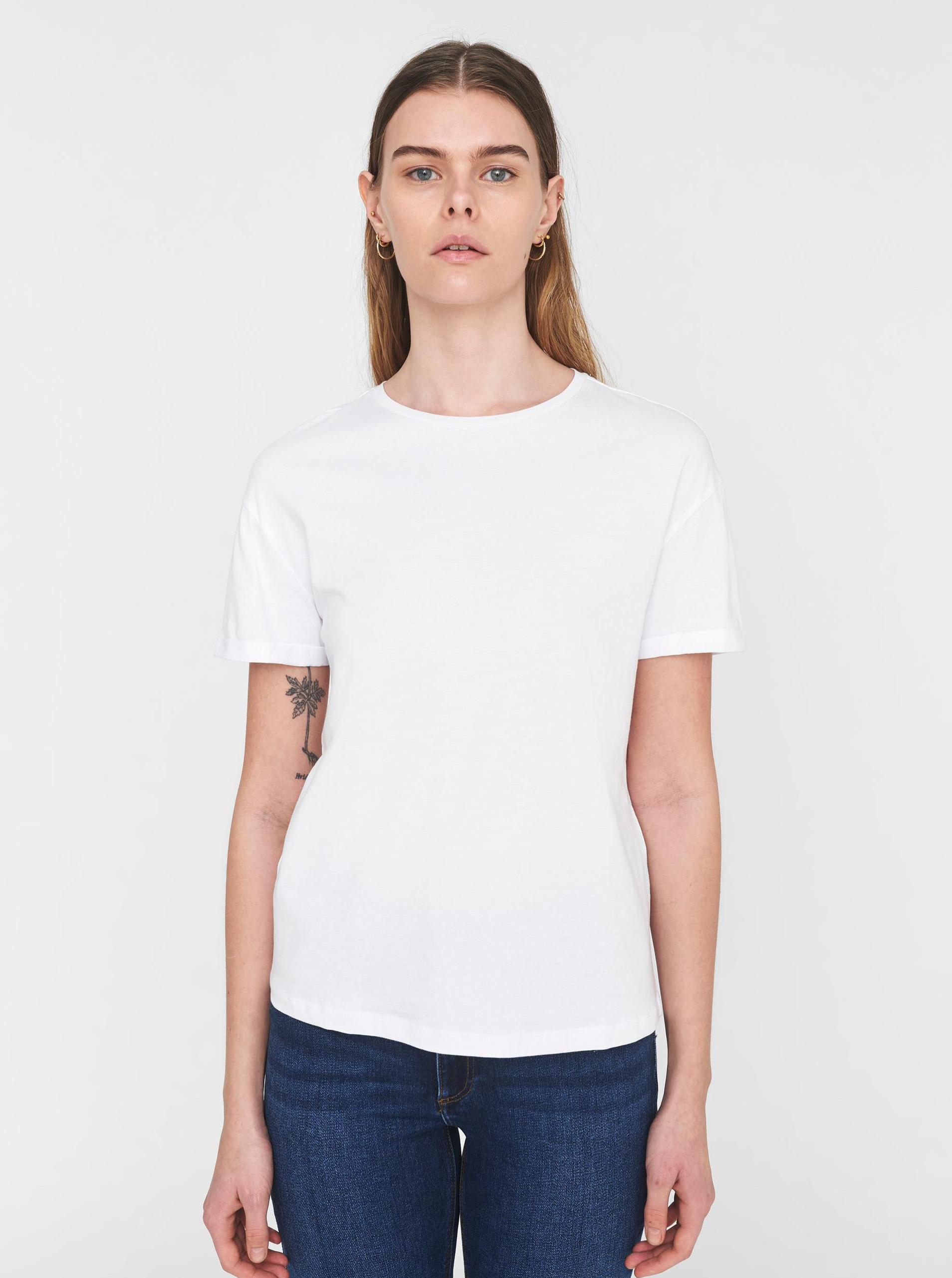 Biele basic tričko Noisy May Brandy