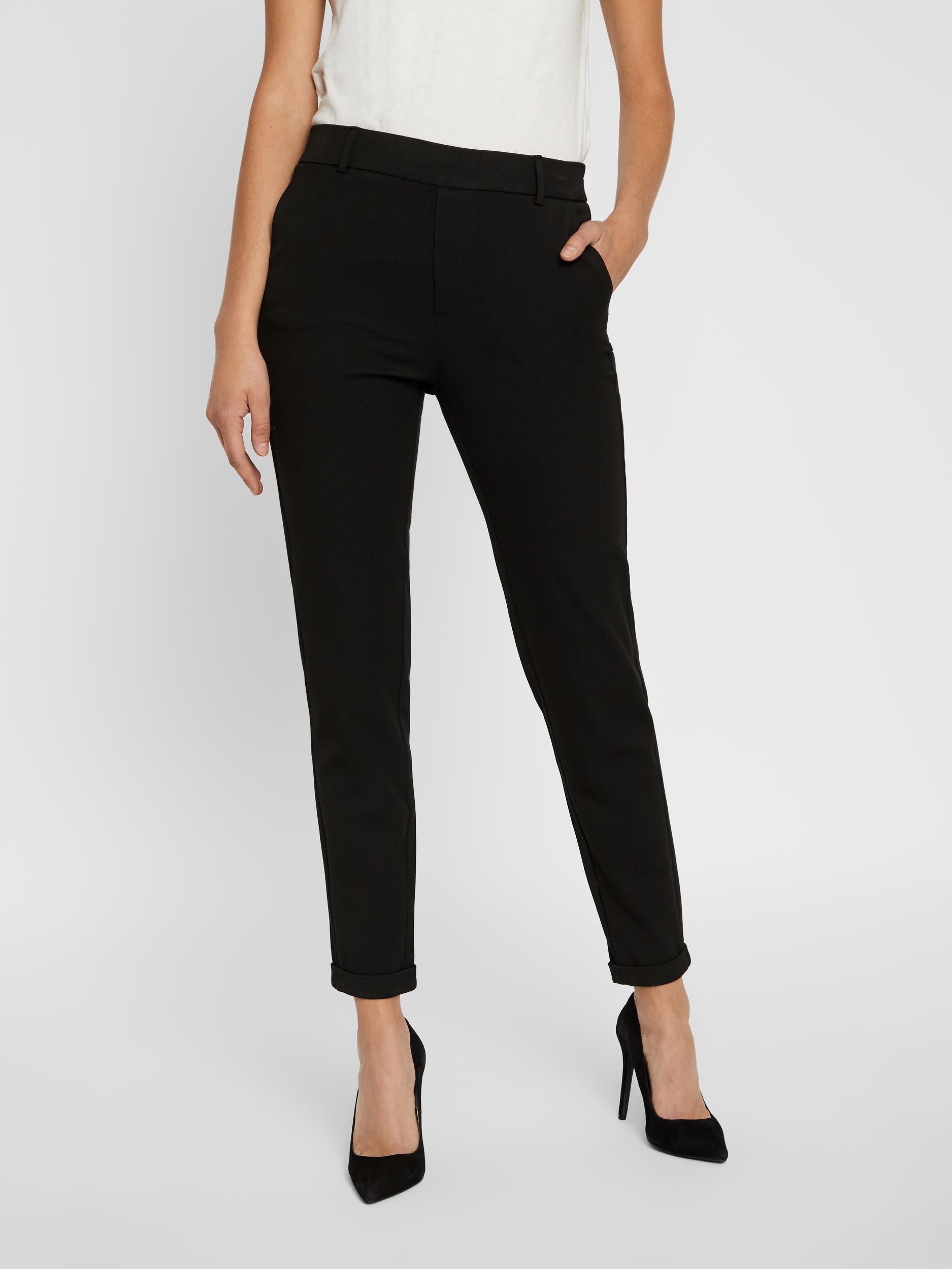 Čierne nohavice VERO MODA Maya - XS