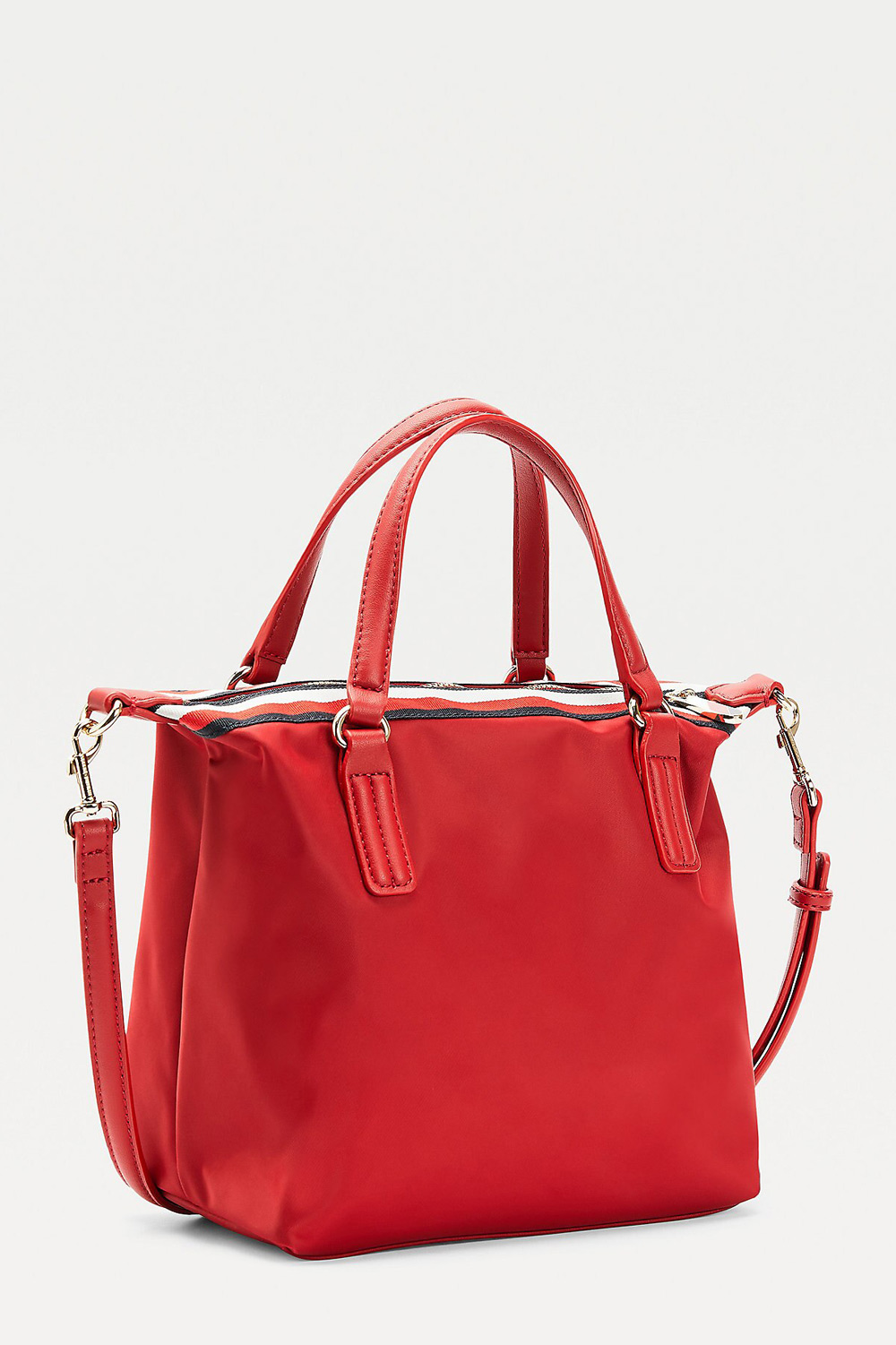 Tommy Hilfiger bordová kabelka Popy Small Tote Corp Arizona Red