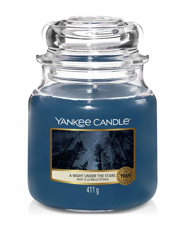 Yankee Candle vonná sviečka A Night Under The Stars Classic stredná