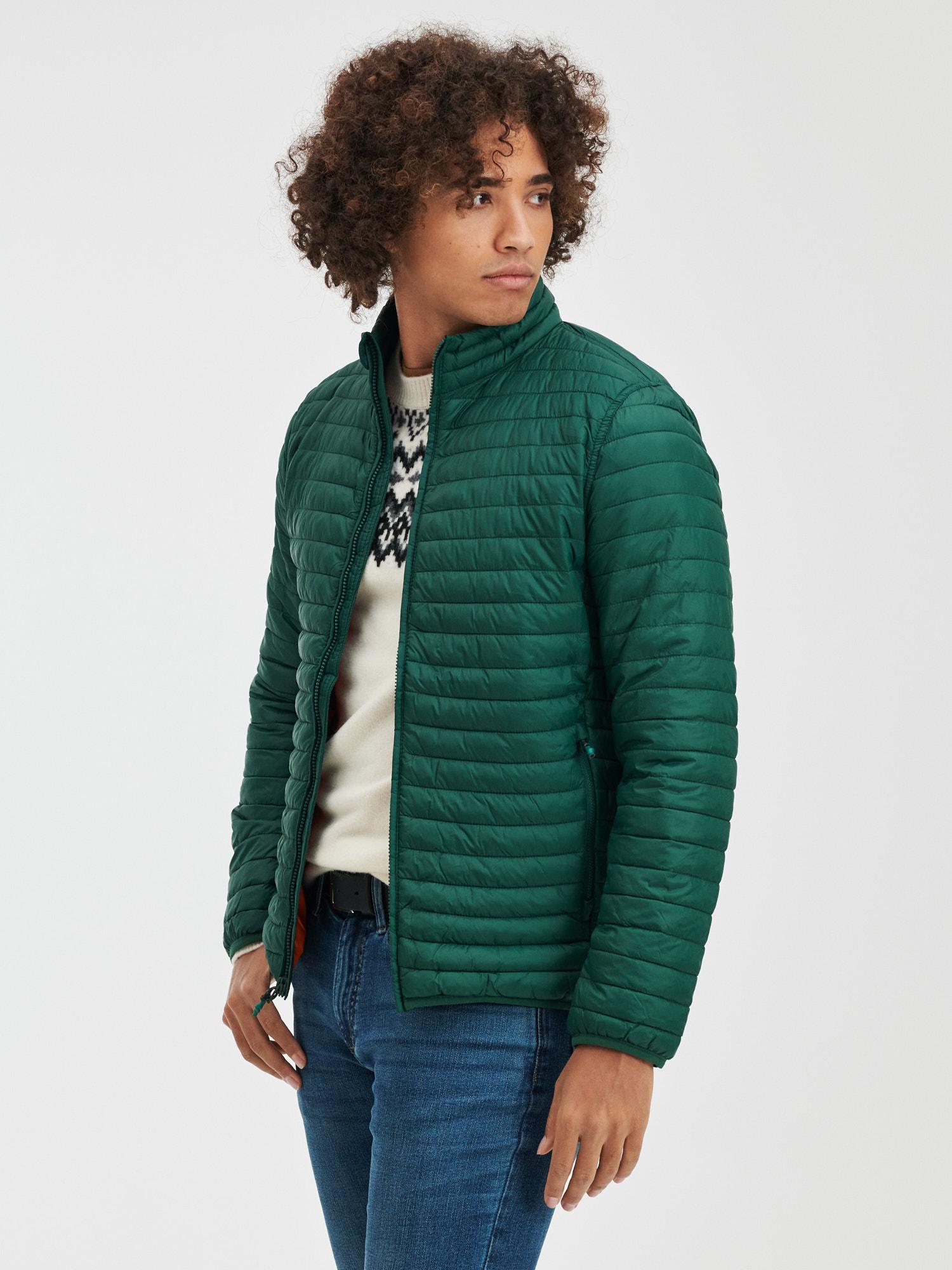 GAP zelené pánska bunda - XL