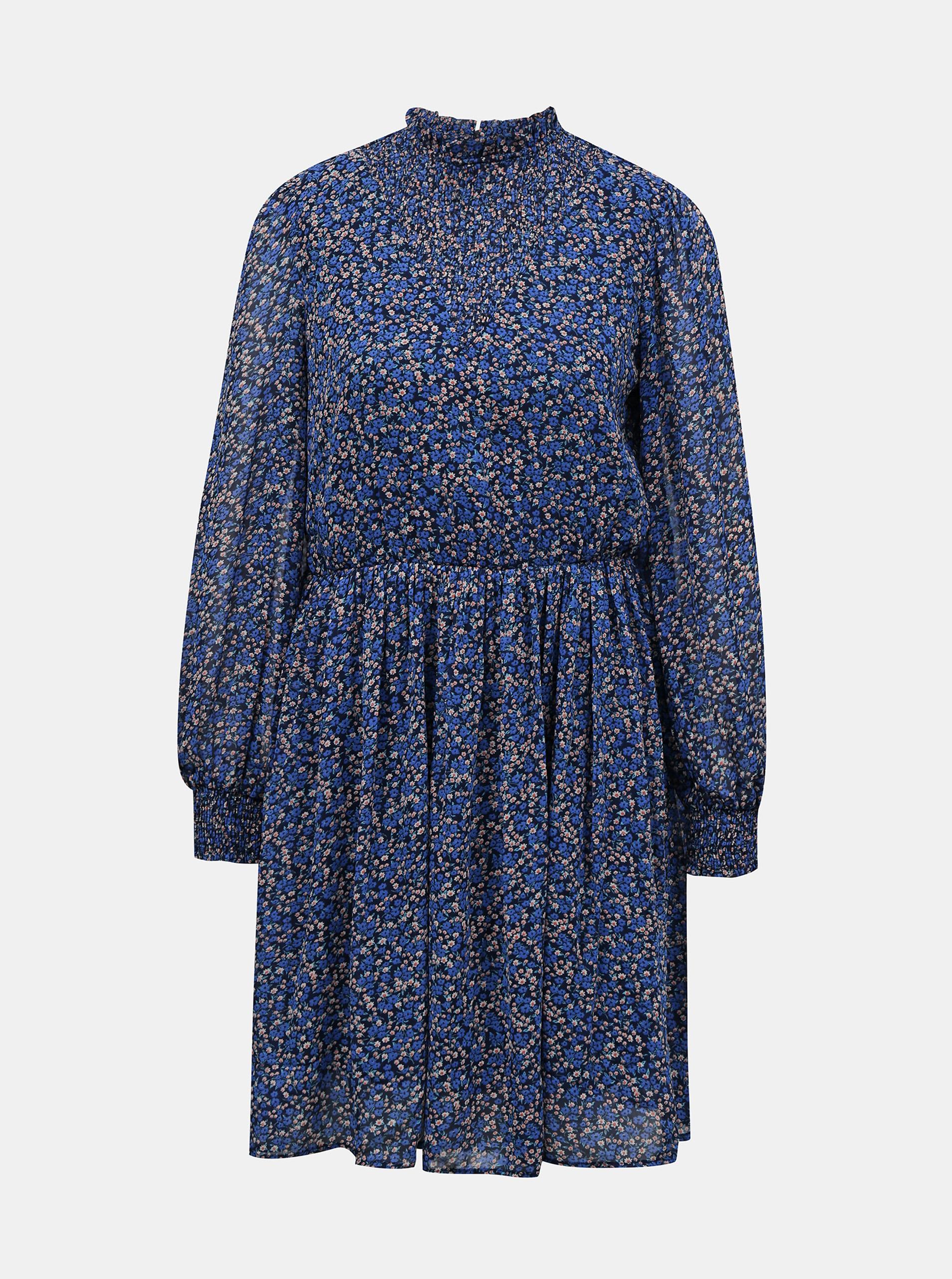Pieces modré šaty - L