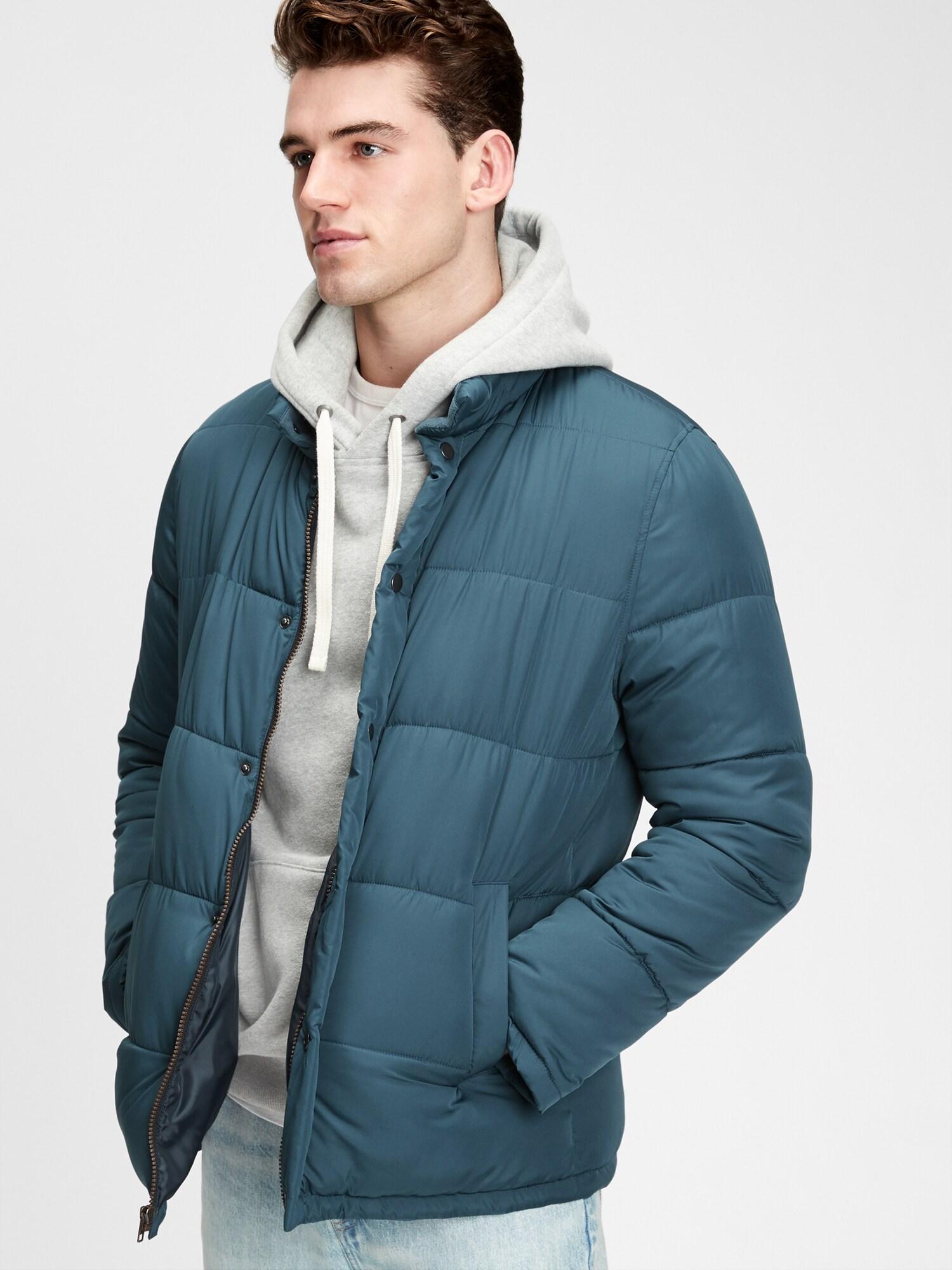 GAP modré pánska bunda - XL