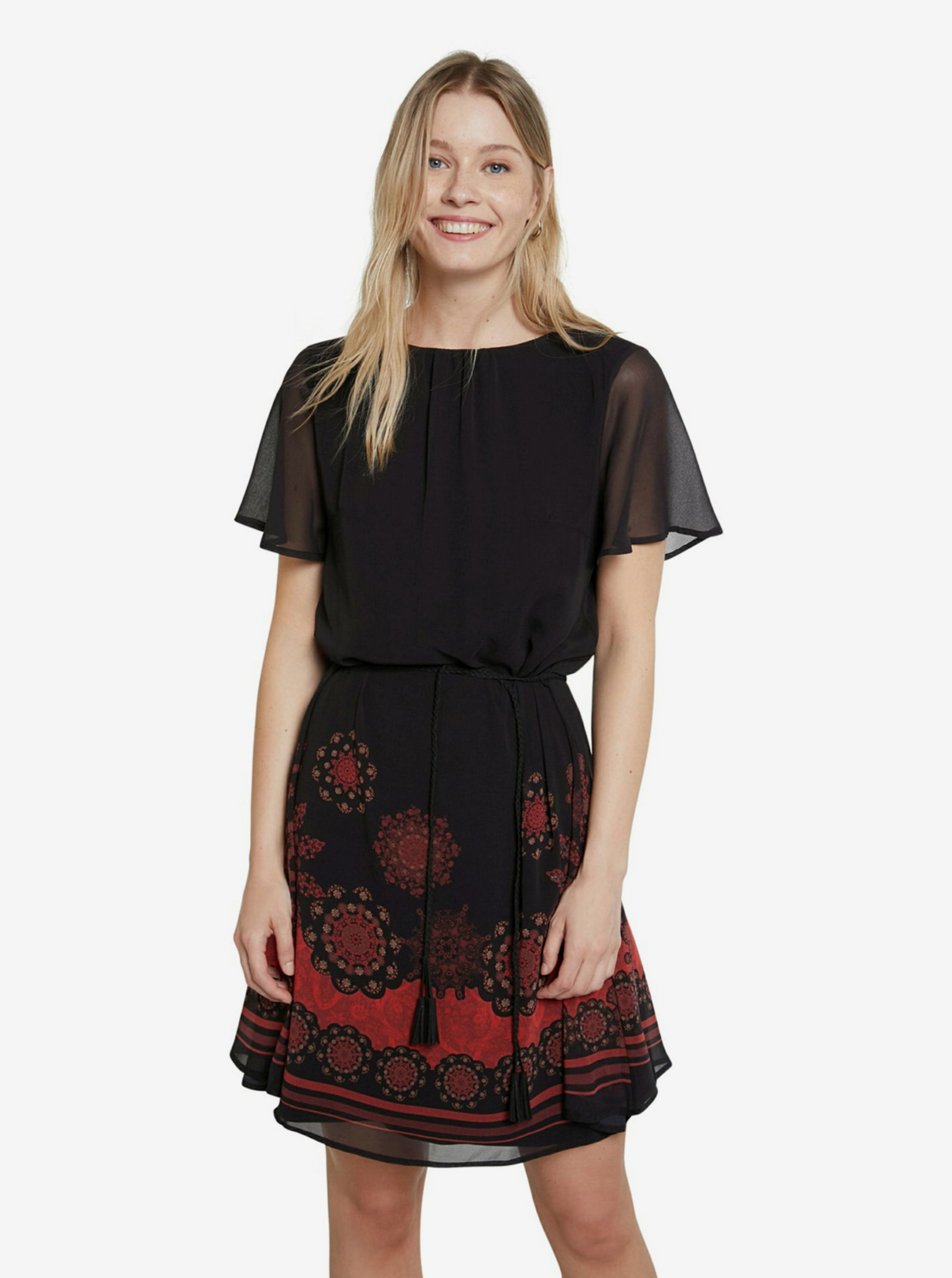 Desigual čierne šaty - S