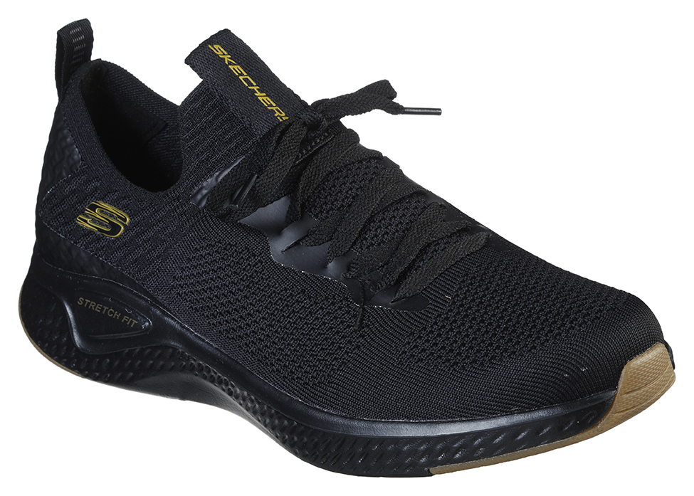 Skechers čierne pánske tenisky Solar Fuse Valedge - 45