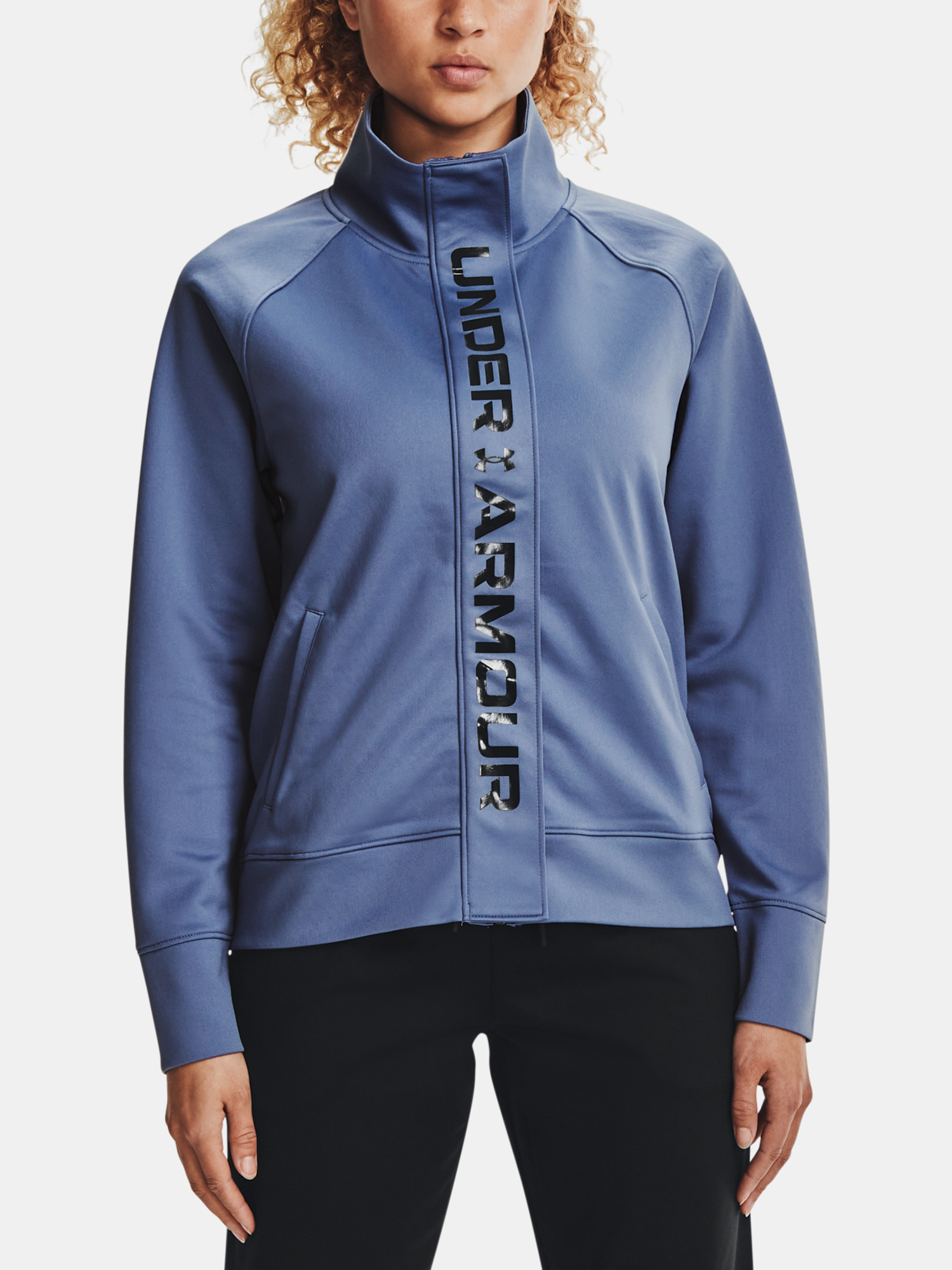 Under Armour Recover Tricot Mikina Modrá - M