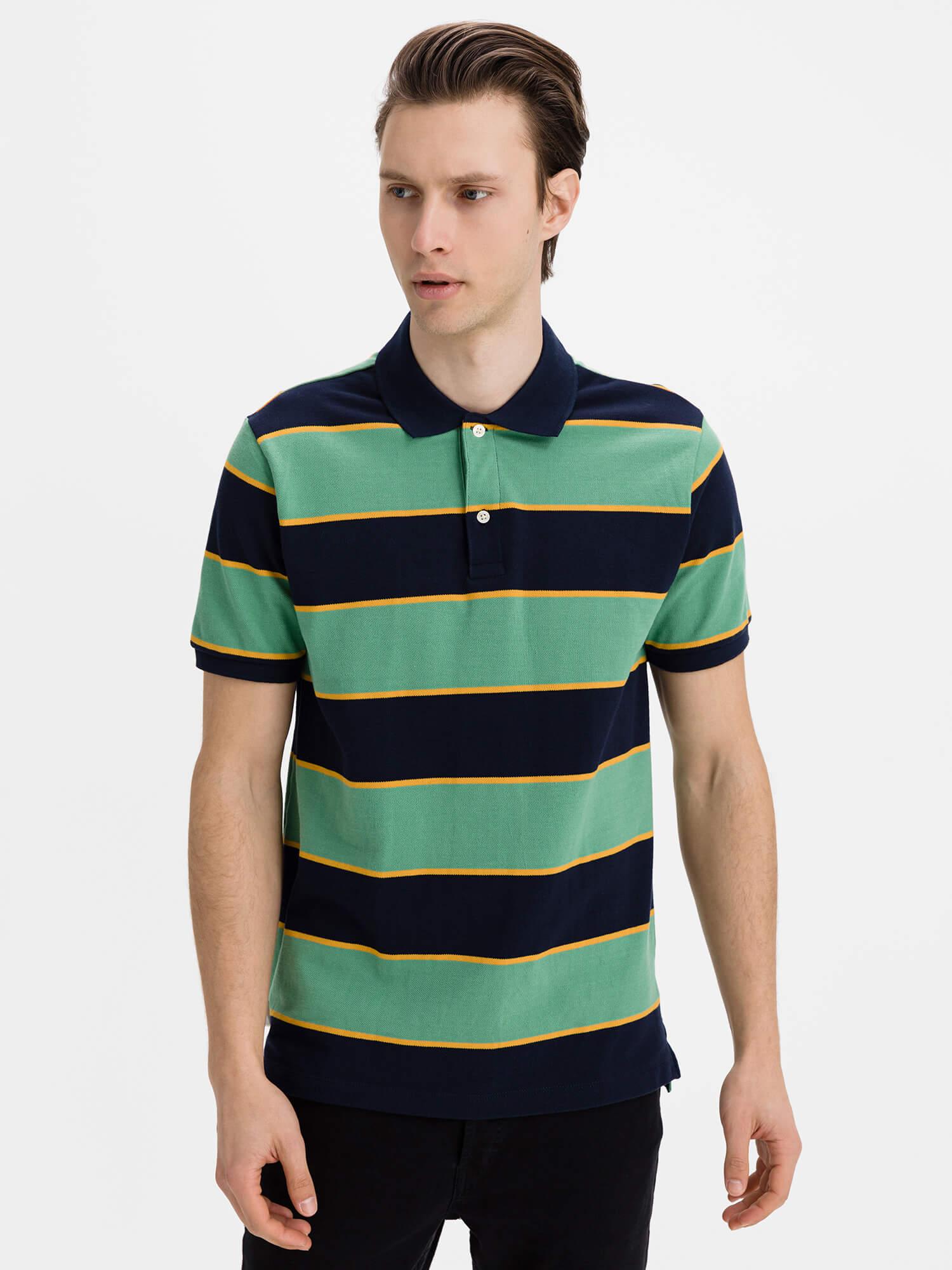 GAP farebné pánske polo tričko - XXL