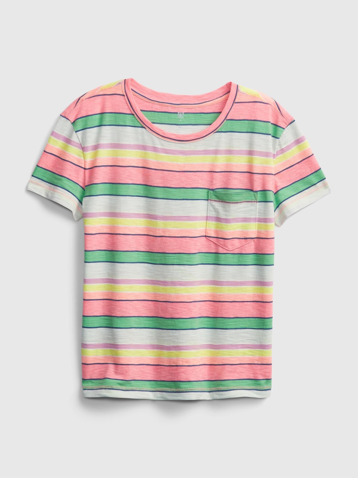 GAP farebné detské tričko - XXL