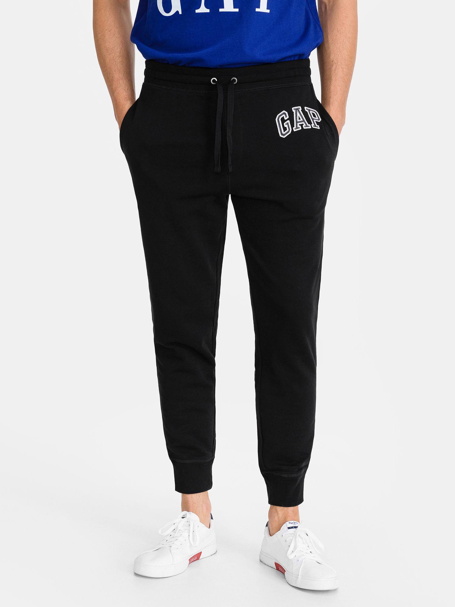 GAP čierne pánske tepláky s logom - XL