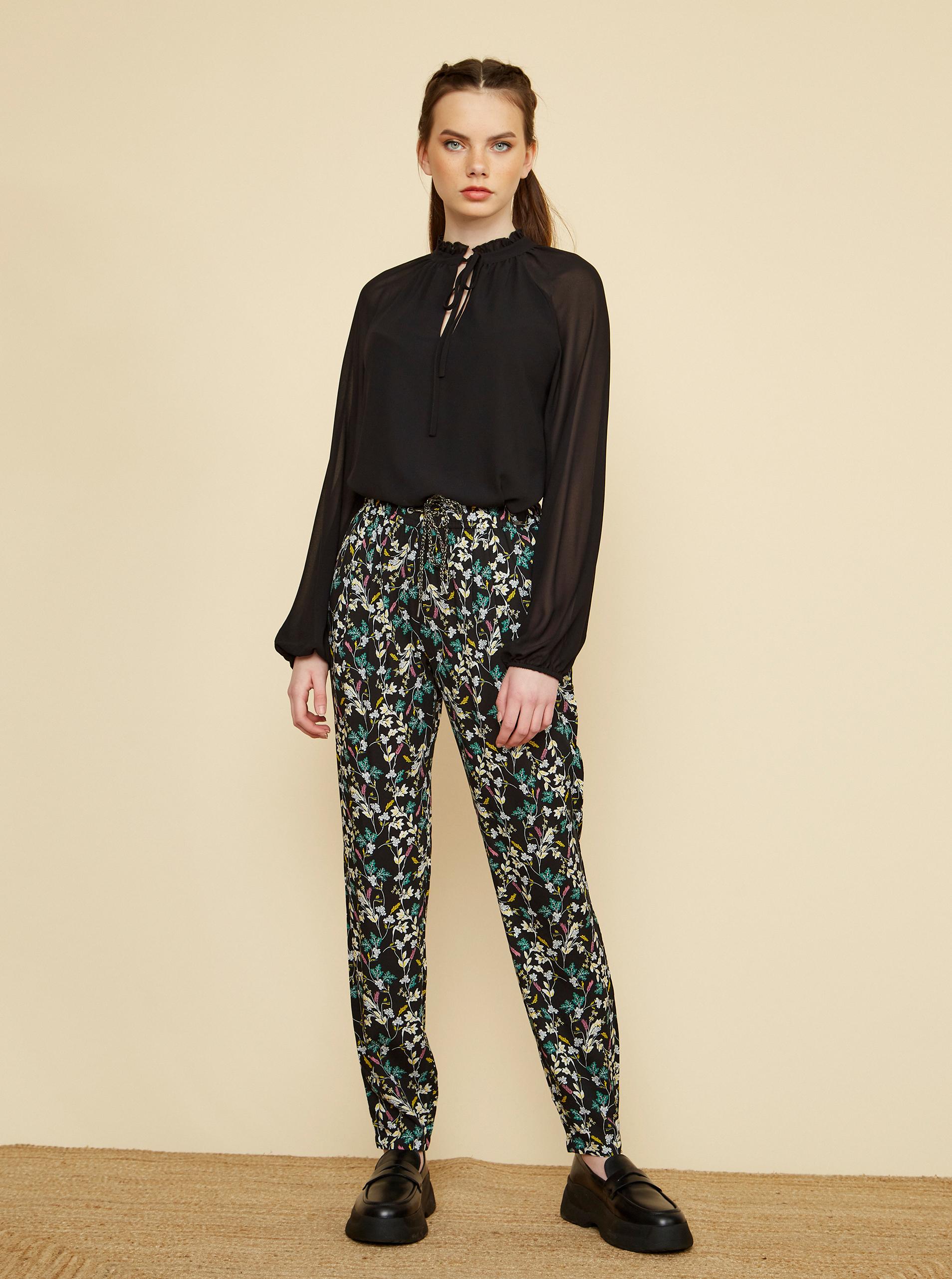 ZOOT čierne nohavice Rosalyn - XL