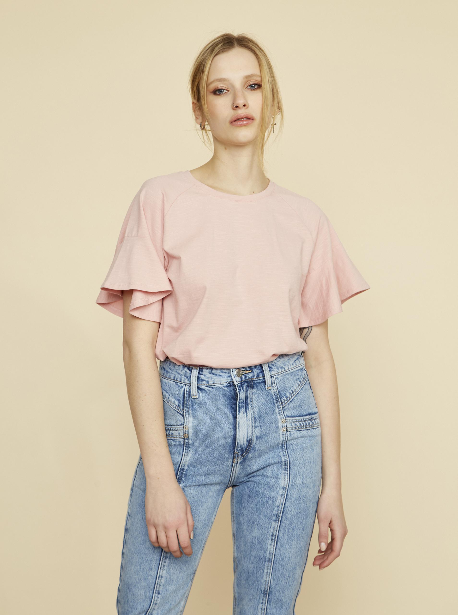 ZOOT ružové dámske tričko Aurelia - XL