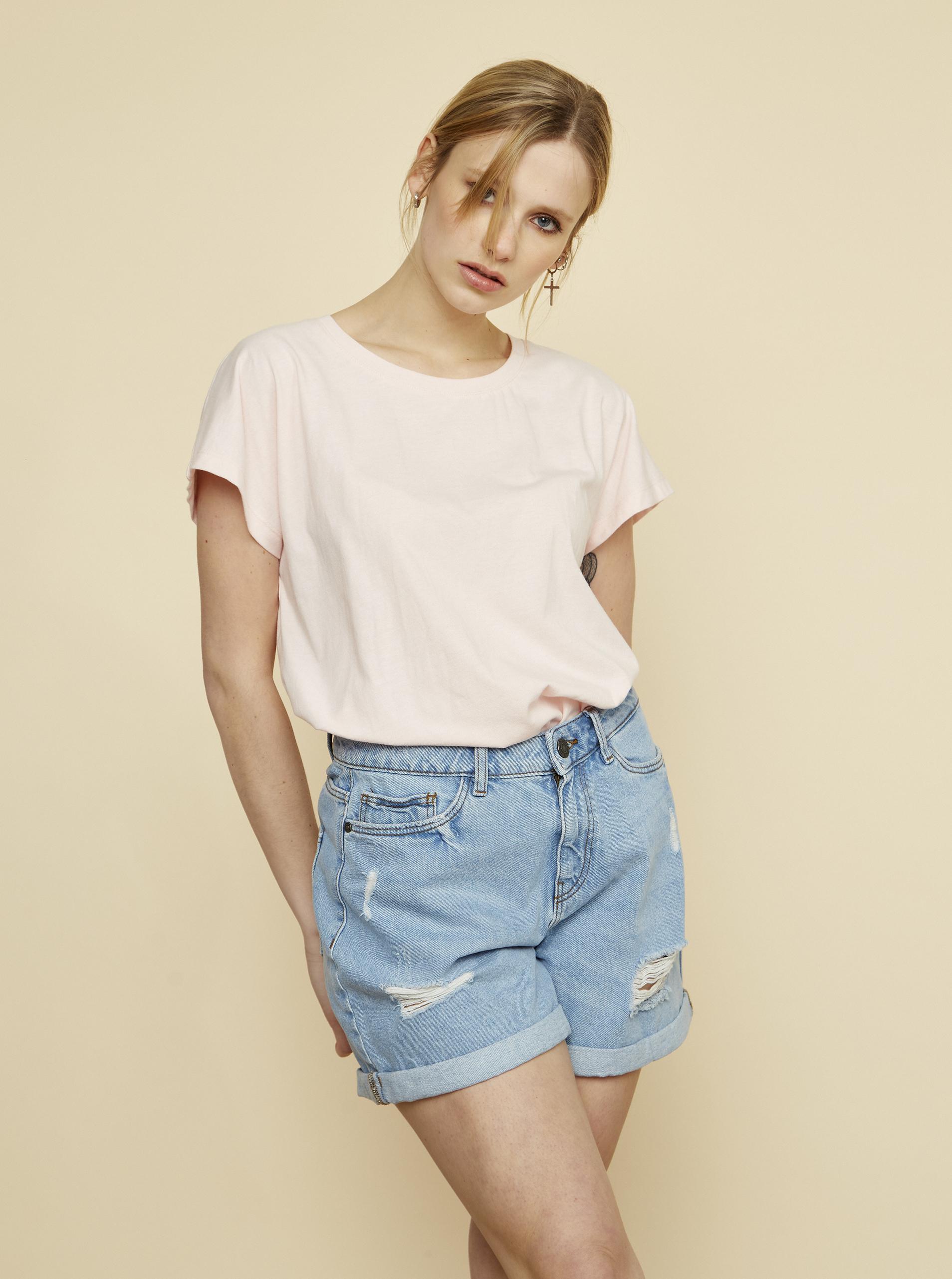 ZOOT ružové dámske tričko Leah - XL