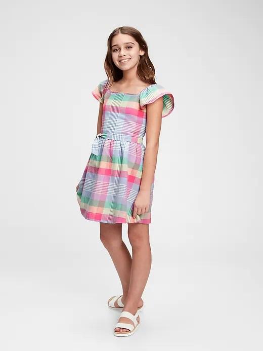 GAP farebné dievčenské šaty - XXL